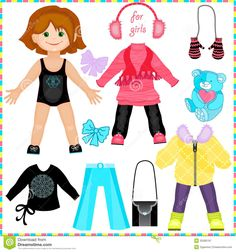 paper dolls fashion - Buscar con Google