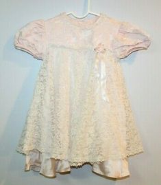BABY GIRLS CHRISTENING TIGHTS WEDDING PARTY IVORY CREAM HEARTS /& FLOWERS ITALIAN