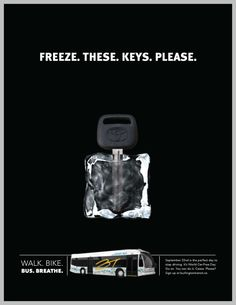 A Barrett and Welsh Toronto transit advertising campaign for Burlington Transit.