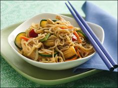 so low mein with chicken  |  Hungry Girl  |  200 Under 200  |  4 WWP+