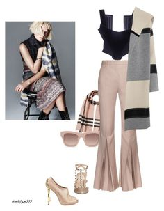 """""""Have fun...!"""" by katelyn999 ❤ liked on Polyvore featuring Burberry, Valentino, STELLA McCARTNEY, Jonathan Saunders, Vivienne Westwood, Vince, chic, Elegant, personalstyle and holiday2015"""