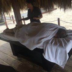 Massages on the beach