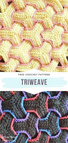 Crochet Stitches For Beginners, Crochet Stitches Patterns, Crochet Designs, Stitch Patterns, Knitting Patterns, Easy Knitting, Knitting For Beginners, Start Knitting, Crochet Quilt Pattern
