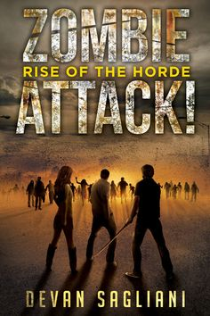 Zombie Attack! Rise of the Horde - new cover from Permuted Press