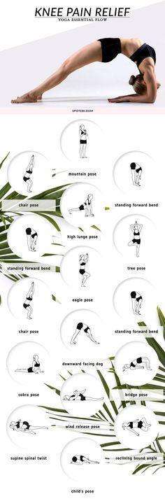 Knee Pain: KNEE PAIN RELIEF YOGA ESSENTIAL FLOW