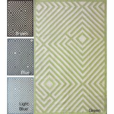 @Overstock - One of the most popular rug styles preferred by decorators are kilim rugs made in India. These rugs are flat woven which means that they do not have a pile.http://www.overstock.com/Home-Garden/Handmade-Luna-Amish-Wool-Flatweave-Kilim-Rug-8-x-10/6359400/product.html?CID=214117 $433.99
