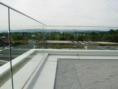 Glazen balustrade buiten | vidre glastoepassingen