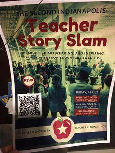 April 7, 2017 Teacher Story Slam
