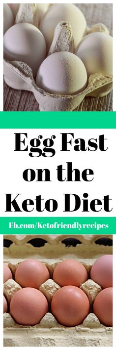 Understanding an Egg Fast on the Keto DIet