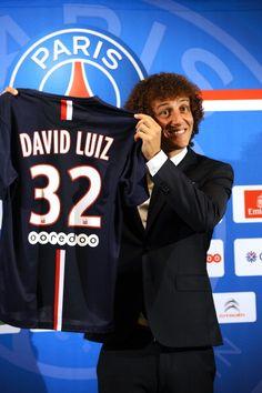 David Luiz 32 Allez Paris e 4 Brasil...