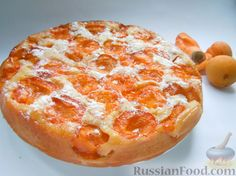 Recipe Apricot pie, composition: apricot, m … - All Recipes Fruit Recipes, Pie Recipes, Baking Recipes, Sweet Recipes, Russian Dishes, Russian Recipes, Ramadan Sweets Recipes, Apricot Pie, Kitchens