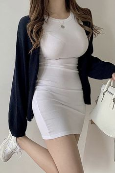Preppy Girl Outfits, Preppy Style, Cute Outfits, Teenager Outfits, College Outfits, Brunch Outfit, Women's Fashion, Fashion Outfits, How To Look Classy
