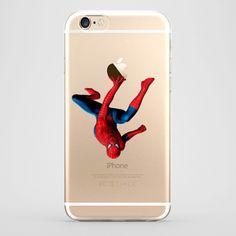 Funda iPhone 6 Spiderman Transparente #iphone6 #fundaiphone6 #iphone6plus #accesoriosiphone6 #tutiendastore #spiderman