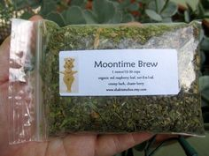 Moontime Brew Womens Herbal Tea Blend One Ounce by ShaktiStudios, $3.50