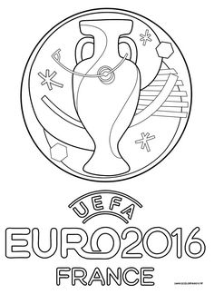 Logo officiel de l'euro 2016