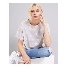 Bold, printed tees | http://www.bundyandwebster.com/collections/new-in/products/yellow-leopard-print-t-shirt
