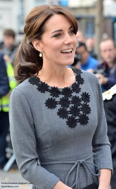 Duchess Kate: Kate in Orla Kiely for Visit to Chance UK's Early Intervention Programme