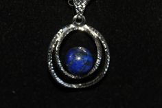 Lapis pendant by Dragan