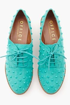 studded oxfords
