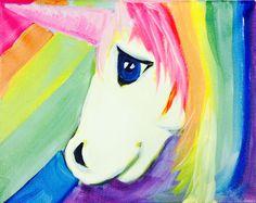 unicorn kids painting