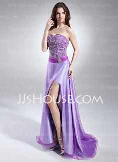 A-Line/Princess Sweetheart Sweep Train Organza Satin Prom Dress With Beading Sequins Split Front Prom Dresses For Sale, Prom Dresses Online, Evening Dresses, Formal Dresses, Masquerade Dresses, Masquerade Ball, Prom Accessories, Bustier, Quinceanera Dresses