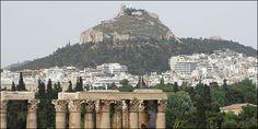Κτίρια-σύμβολα της Αθήνας Στήλοι του Ολυμπείου Διός Paris Skyline, Travel, Viajes, Destinations, Traveling, Trips, Tourism