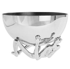 Carrol Boyes bowl - what a centrepiece! Contemporary Wedding Gifts, Africa Art, African Design, Wooden Bowls, Salad Bowls, Kitchen Art, Metal Art, Decorative Bowls, Silver Jewelry