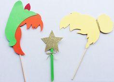 Paillettes Peter Pan et Clochette inspirent par LetsGetDecorative