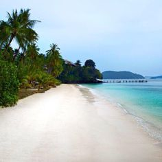 The beach at Cape Panwa Hotel
