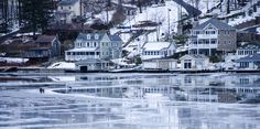 Thawing Lake Hopatcong, NJ - Doesn't deter ice fisherman. Lake Hopatcong, Cityscapes, Beautiful Creatures, Places To Go, Beautiful Places, Ice, Memories, Seasons, House