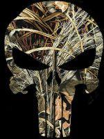 Custom Punisher Skull (Realtree Max-4) by eddieduffield19