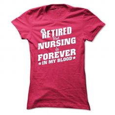 Retired Nurse - #cool shirt #logo tee. GET IT NOW => https://www.sunfrog.com/No-Category/Retired-Nurse-HotPink-47117980-Ladies.html?68278