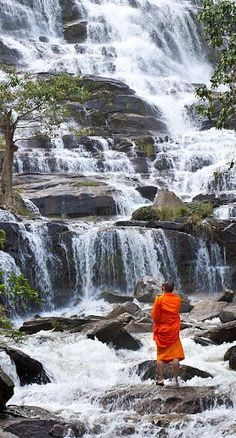 Seethe Waterfalls in Doi Inthanon National Park