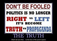 Don't be fooled...   trouble is there's not enough truth.