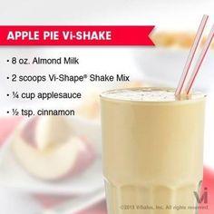 Apple Pie Body by VI Shake- sometimes I just use a small apple- num!  http://apriljeppson.bodybyvi.com