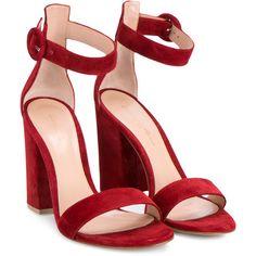 87e6da779ac3f Gianvito Rossi Versilia sandals (15 915 UAH) ❤ liked on Polyvore featuring  shoes