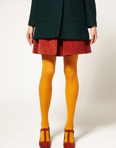 Modal Plain Tights