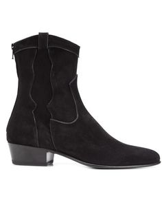 LOUIS LEEMAN 'Texas' Ankle Boots. #louisleeman #shoes #boots