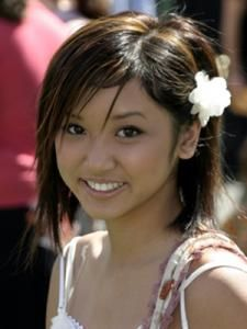 Cute Medium Side Swept Hairstyles for Women from Brenda Song at The Party