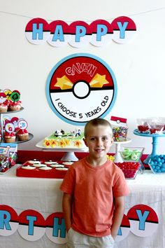 Wants and Wishes: Party planning: Pokemon Birthday Party.