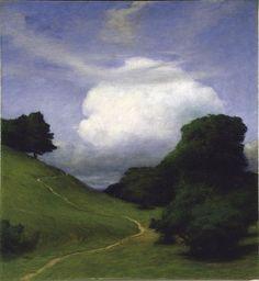 Eugène de Suède (Suède, 1865-1947) – Molnet (Le Nuage) 1895.