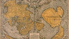 The PIRI REIS Map of Antarctica. Does this old map prove a polar shift? The continent is shown without ice. How would anyone have known the shape of the land, yet it is accurate. Big mystery here. Archaeological Discoveries, Archaeological Finds, Vintage Maps, Antique Maps, Ancient Aliens, Ancient History, Ancient Map, Ancient Egypt, Piri Reis Map