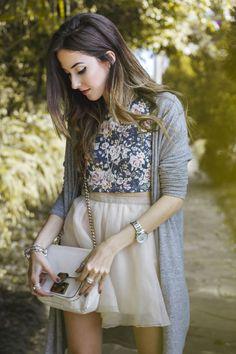 look romântico e delicado inspirado nas jóias da Pandora