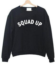 squad up sweater
