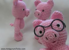 Amigurumi To Go: Little Bigfoot Piggy 2014 With Video