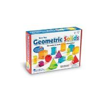 Learning Resources View-Thru Geometric Solids (LER4331)