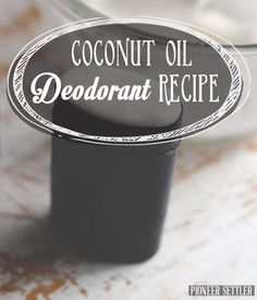 Check out Coconut Oil Deodorant | Recipe at http://pioneersettler.com/coconut-oil-deodorant-recipe/