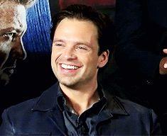 sebastiansource: Sebastian Stan at the Captain America: Civil War London Press Conference