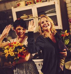 Ginnifer Goodwin & Jennifer Morrison | Once Upon a Time