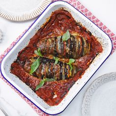 How to make the perfect Hasselback Aubergine Parmigiana